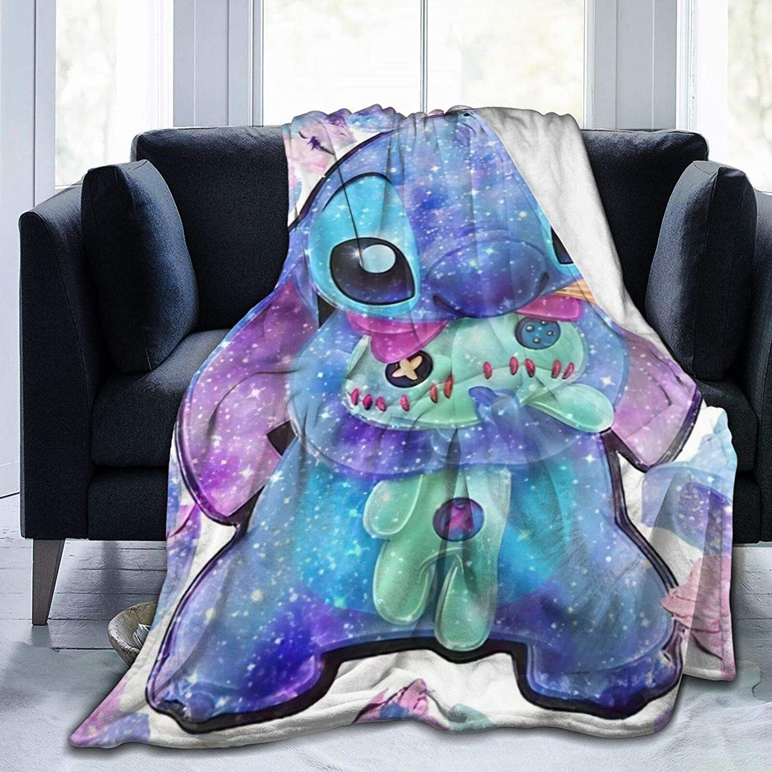 Lilo-Stitch Blanket Soft Comfortable Warm Outlet sale feature Max 52% OFF Flannel and Bl