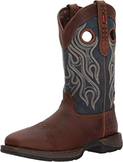Durango Men's Rebel Steel Toe Pull-on Western Boot