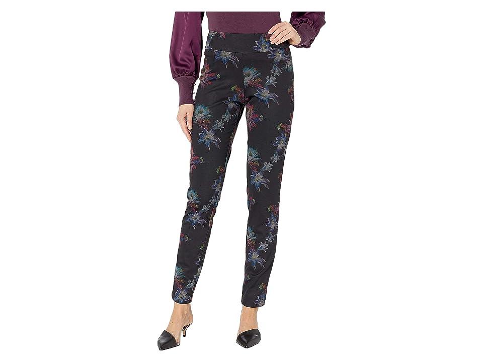 Krazy Larry - Krazy Larry Pull-On Printed Ponte Long Pants