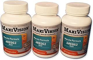MedOp MaxiVision® Macula Formula - 60 Capsules, 3 Bottles