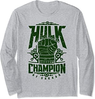 Marvel Hulk Champion Of Sakaar Fist Poster Manche Longue