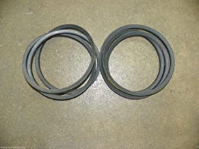 Set of Two (2) Finish Mower Belts for 5' Sovema/LMC Mowers 900.241.340 LMC241340