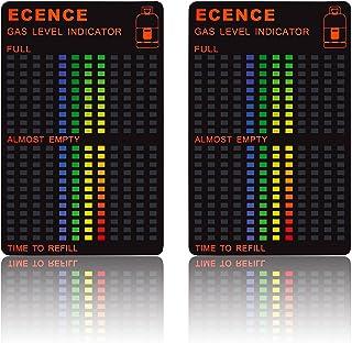 ECENCE 2X Magnético Gas Indicador De Nivel para Gas Combustible Tanque Propano Butano LPG 14040106