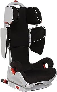 Mondial Safe Alaska Isofix 2 KS06 - Silla niña para automóvil, color negro con ribete blanco