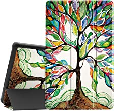 """Famavala Shell Case Cover Compatible with 10.1"""" All-New Amazon Fire HD 10 Tablet [7th / 9th Generation, 2017/2019 Release]..."""