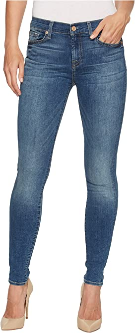 7da91fe1c5 7 For All Mankind The Ankle Skinny w/ Destroy in Distressed ...