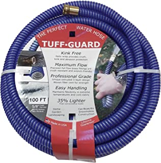 Tuff Guard Water Hose, Extrusion, 5/8 in ID, 50 ft L