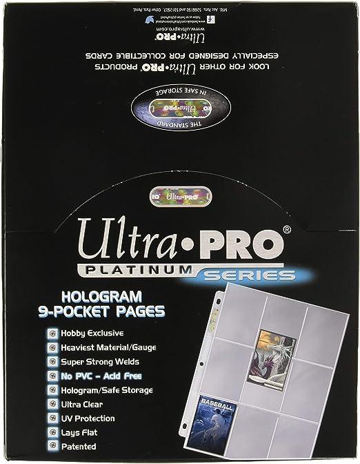 Trading Card 8 pantalla Multi-Tamaño de bolsillo y almacenamiento página X 20 Pack
