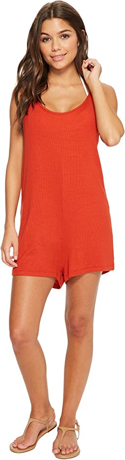 Isabella Rose - Paradise Knit Romper Cover-Up