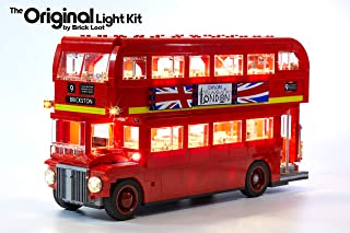 Brick Loot Lighting Kit for Your Lego London Bus Set 10258 Set (Lego Set Not Included)