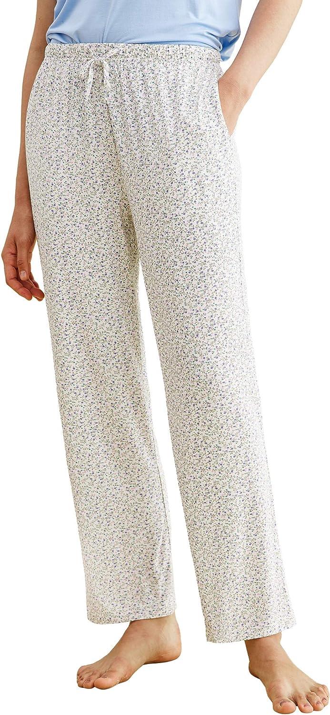 Latuza Women's Bamboo Viscose Floral Pajama Lounge Pants