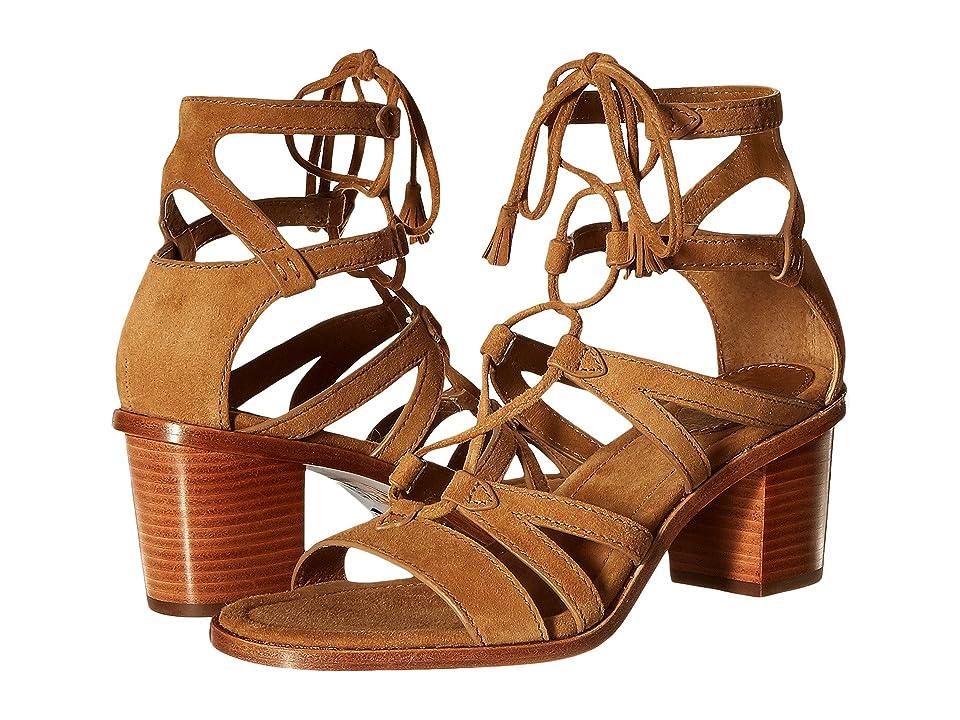 Frye Brielle Gladiator (Sand Suede) High Heels