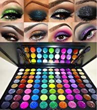 Beauty Treats 88 PRO Glitter Cream Color Eye Shadow Makeup Eyeshadow Palette