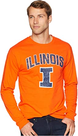 Illinois Fighting Illini Long Sleeve Jersey Tee