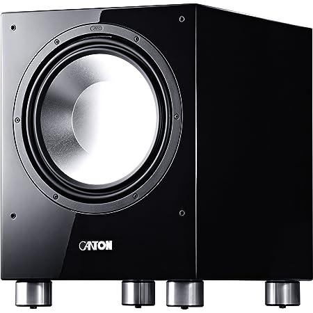 Canton Sub 1200 R Aktives Subwoofersystem 500 750 Watt 1 Er Stück Hochglanz Schwarz Audio Hifi