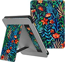 MoKo Case Fits Kindle Paperwhite (10th Generation, 2018 Releases), Lightweight PU Leather Cover Stand Shell with Hand Stra...