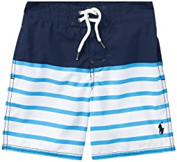 Polo Ralph Lauren Kids - Sanibel Striped Swim Trunks (Little Kids)