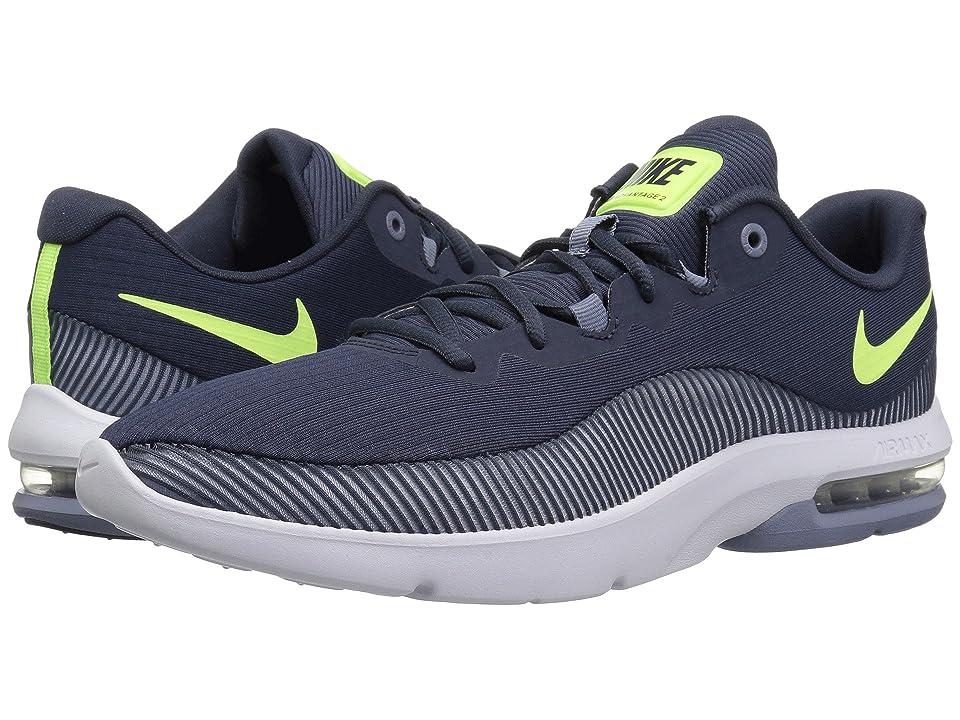 Nike Air Max Advantage 2 (Thunder Blue/Volt Glow/Ashen Slate) Men