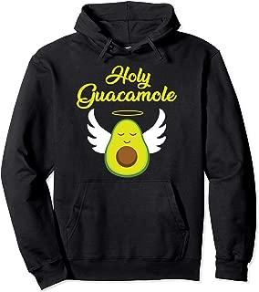 Holy Guacamole Cute Healthy Avocado Angel  Pullover Hoodie