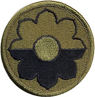 Original 9th Infantry Division OD shoulder patch (Shoulder Sleeve Insignia) - WWII - Vietnam - Ft Lewis - dated 1989