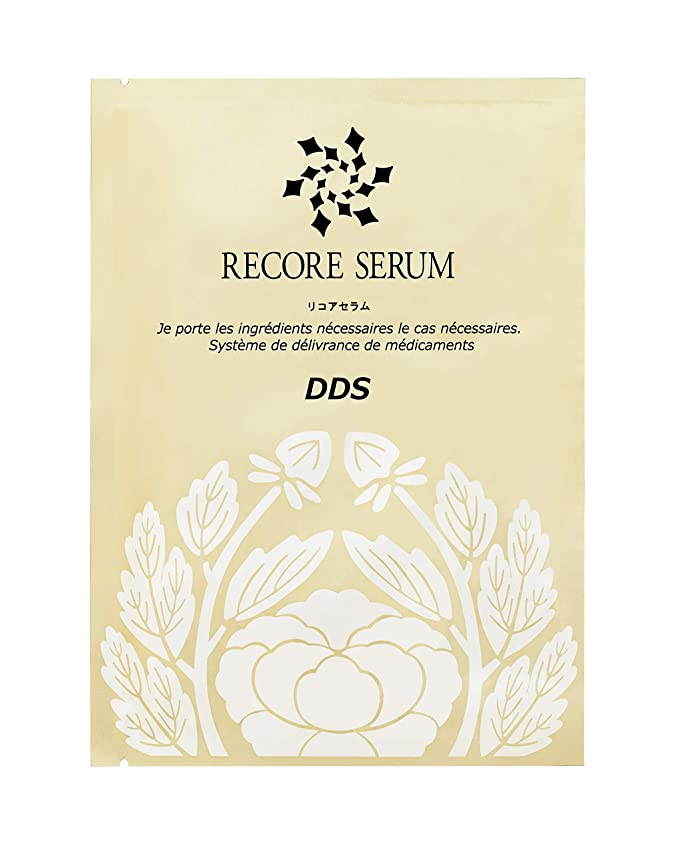 輸血カストディアン心理学RECORESERUM リコアセラム DDS マスク 30ml×5枚入り