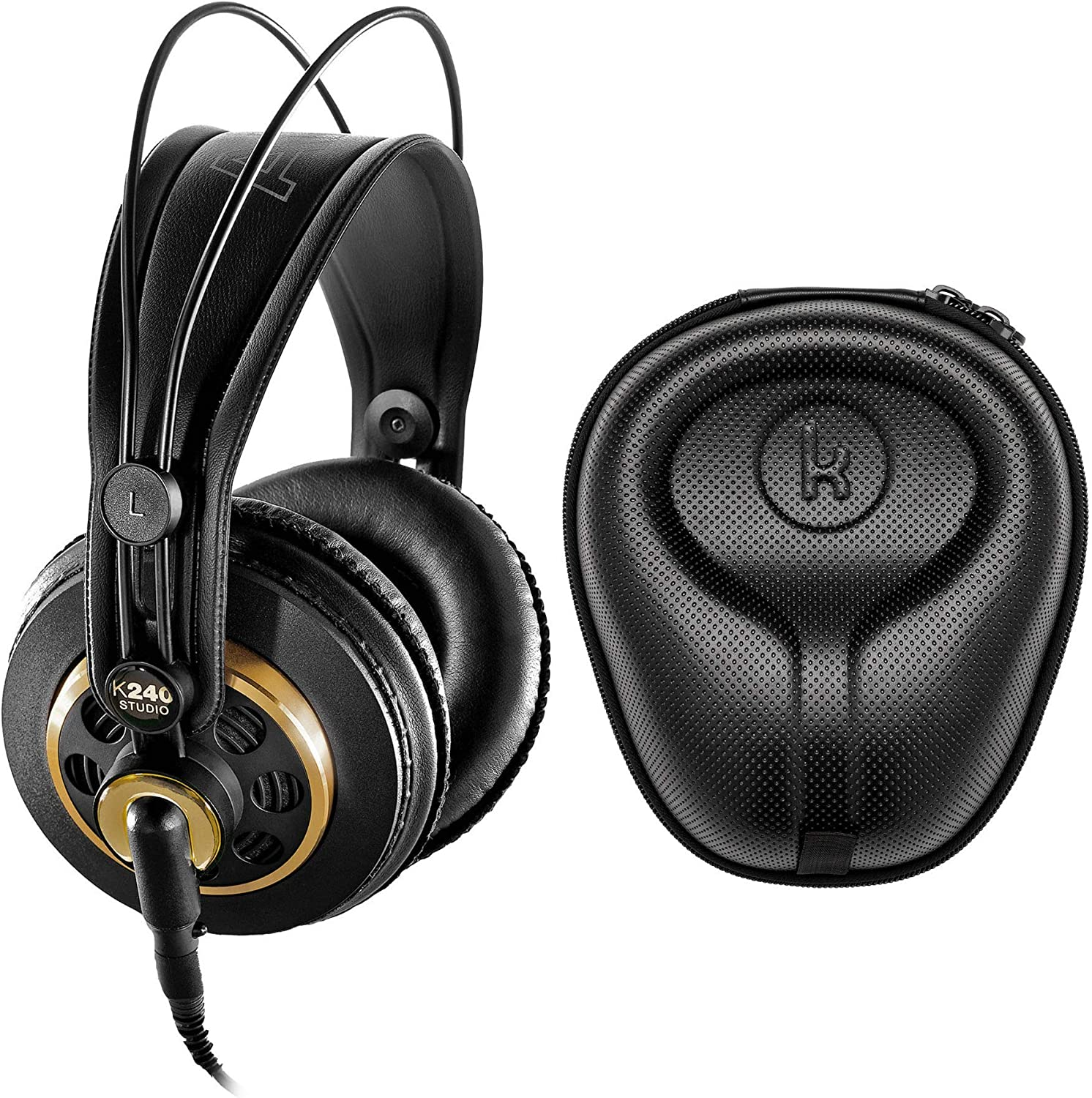 AKG K240 Studio Professional Headphone Semi-Open Stereo Over-Ear At the price of Clearance SALE! Limited time! surprise
