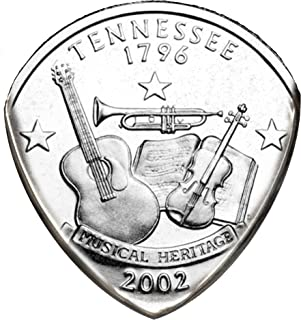 State Coin Guitar Pick (Tennessee)