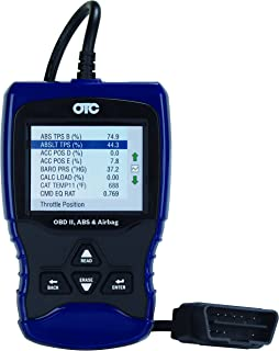 OTC Tools 3209 Trilingual OBD II/EOBD & CAN Scan Tool with ABS/Airbag Codes and Definitions