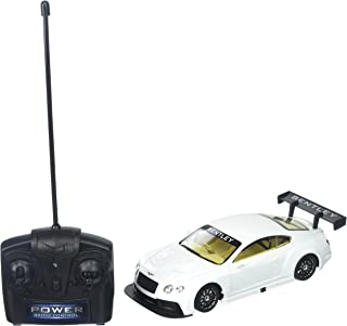 Braha Braha Full Function Remote Control 1:24 Scale - White Bentley GT3, White