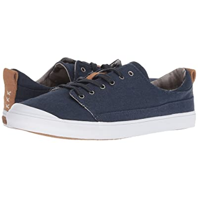 Reef Walled Low (Navy/White) Women