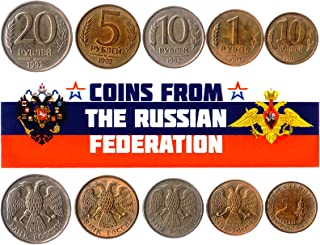 هواية الملوك عملات مختلفة - عملات أجنبية روسية قديمة وتحصيلية لجمع الكتب - مجموعات فريدة من المال التذكارية العالمية - هدا...