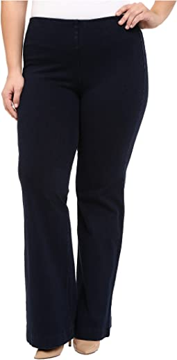 Plus Size Denim Trousers in Indigo