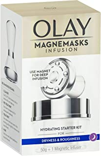 Olay Magnemasks Infusion Hydrating Starter Kit Hydrating Jar Mask 50g + 1 Magnetic Infuser