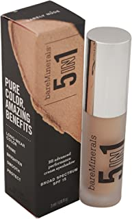 bareMinerals 5-in-1 BB Advanced Performance Cream Eyeshadow SPF 15, Barely Nude, 0.1 Ounce