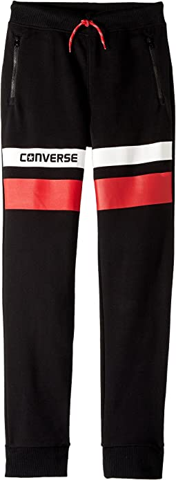 Converse Kids - Color Blocked Slim Fit Jogger (Big Kids)
