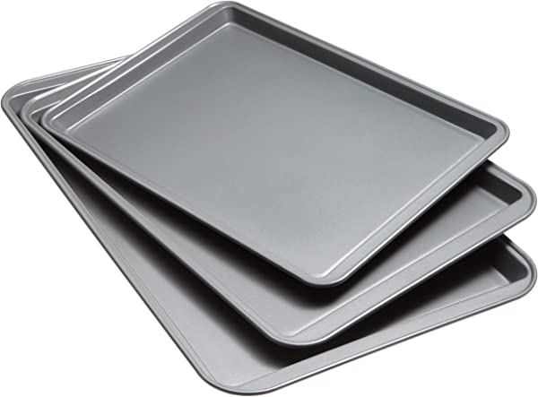 Good Cook Set Of 3 Non Stick Cookie Sheet