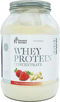 Proteina Whey Premium 1kg - Sabor Chocolate Blanco y Fresa ...