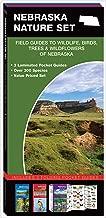 Nebraska Nature Set: Field Guides to Wildlife, Birds, Trees & Wildflowers of Nebraska