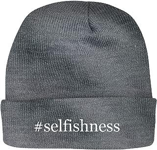 Shirt Me Up #Selfishness - A Nice Hashtag Beanie Cap