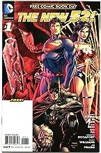 The NEW 52#1, NM-, FCBD, Wonder Woman, Batman, Superman, Jim Lee, Gena Ha,2012