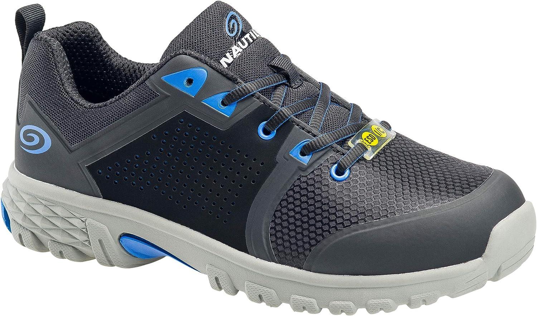 Nautilus Zephyr Men's Alloy Toe Static-Dissipative Slip-Resisting Athletic Work Shoe Size 14(W)