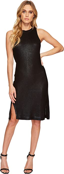 Astor Metallic Sleeveless Dress