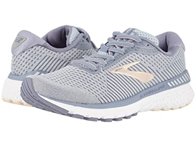 Brooks Adrenaline GTS 20 (Grey/Pale Peach/White) Women