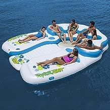 Tropical Tahiti Floating Island 7 Person Inflatable Raft