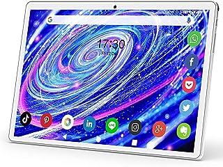 Android タブレット10.1インチ3G機能SIMタブレット32GB ROM 128GB拡張 2.4GHz Wi-Fi対応 4コアCPU 800x1280 IPS HDタッチスクリーンタブレット6000mAhバッテリー5MPデュアルカメラ ...