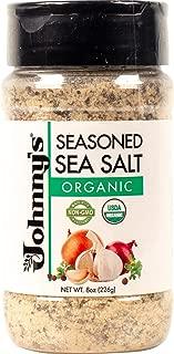 Johnny's Organic Seasoned Sea Salt (1 Pack)