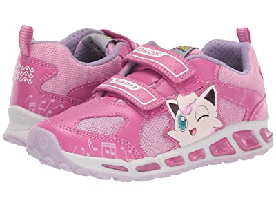 Geox Kids Shuttle 16 Pokemon (Little Kid/Big Kid) (Fuchsia/Pink) Girl