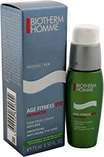 Biotherm Age Fitness Eye Advanced Smoothing Anti-Aging Eye Care Cream for Men, 15 Milliliter