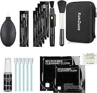 KuuZuse Kit de Nettoyage pour appareils Photo Reflex numériques avec tampons de Nettoyage APS-C, Chiffons en Microfibres, ...