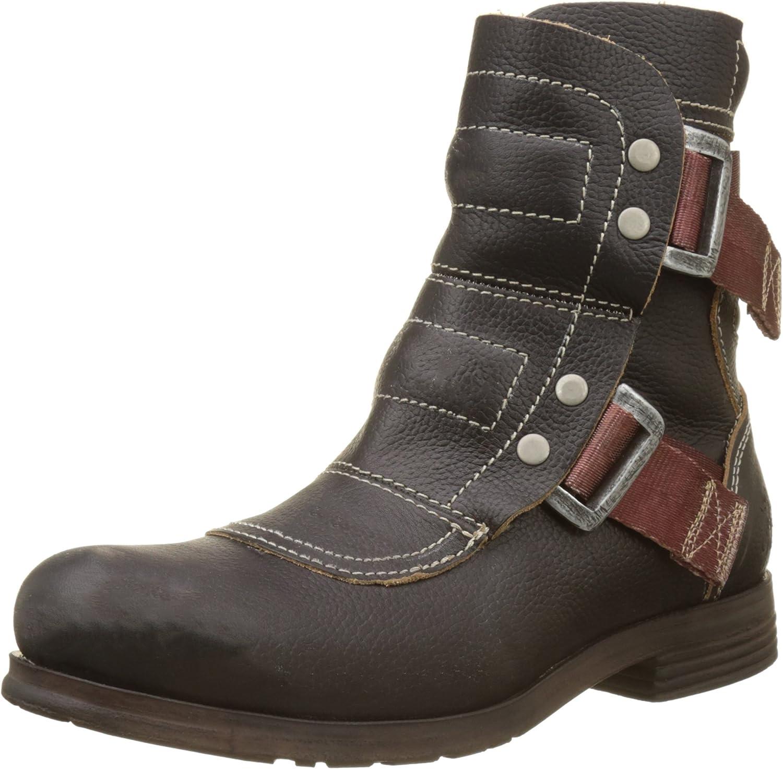 Fly London Womens Seli 700 Kraft Leather Boots